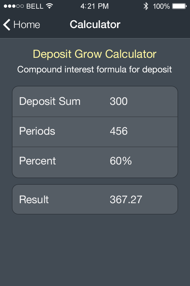 Free Calculator App App Features