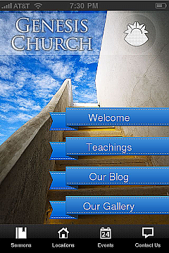 Churches App Templates