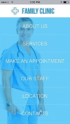 Family Clinic 2 App Templates