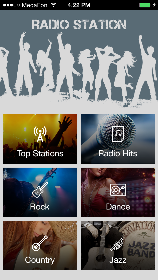 Music radio Apps