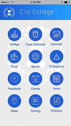 City College App Templates
